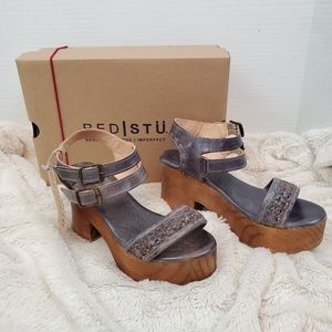 Bed Stu Kenya leather platform sandals (8)